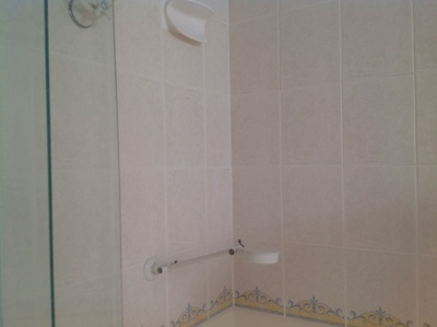 Shower, shower head, clean, tiles, bathroom, grout, shower screens, walls