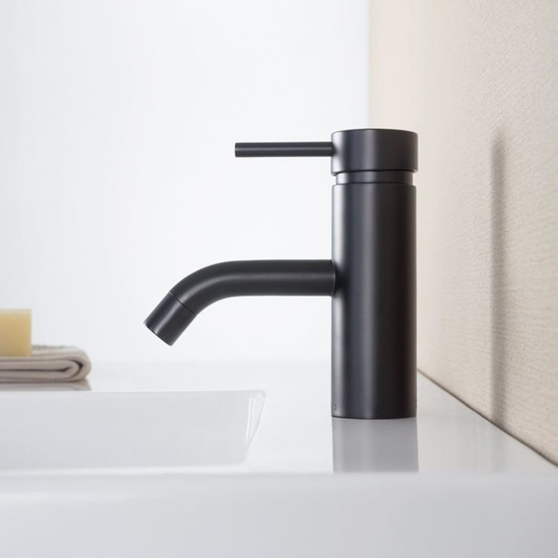 bathroom3  - Style Trends: The New Black in the Bathroom