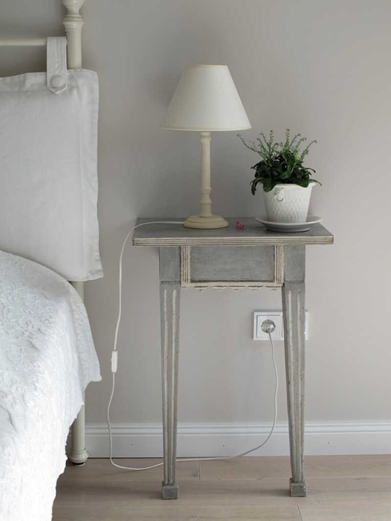 Guest bed, Tea tray  - Setting Up the Perfect Guest Room