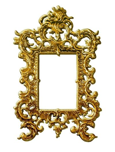 brass mirror painting picture surround frame autumn fall decor design home interior style stylish elegant trend fashion metal shiny sparkle