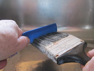 Cleaning Paint Roller