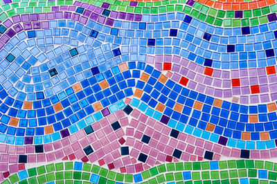 Colourful Zany Tiles