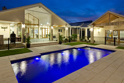 Fibreglass swimming pool from Freedom Pools & Spas