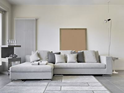 furniture sitting room lounge grey decor calming house home neutral peaceful haven sofa settee cushions
