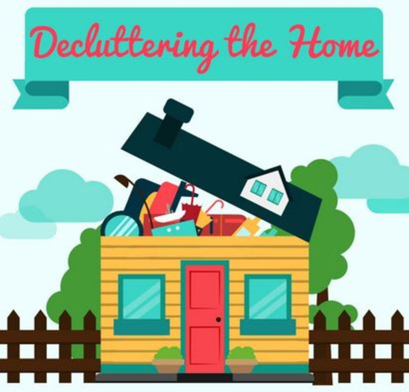 Home house garden clutter declutter mindfulness clearout for Organize cleaning your house