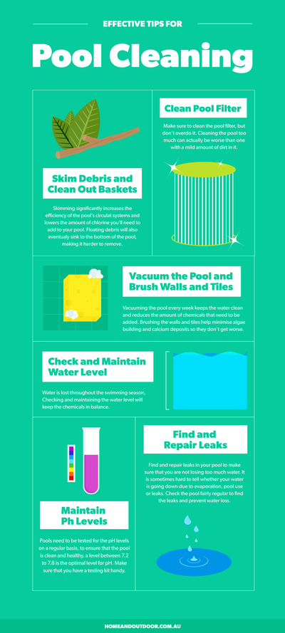 Effective Tips For Pool Cleaning Home Genius