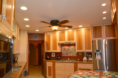 kitchen home recessed lights trend decor design interior stylish house