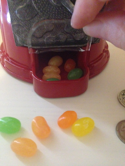 overcoming sweet cravings, controlling sweet craving. jelly belly mini bean machine