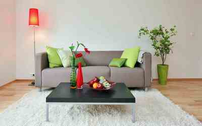 Simple Living Room, Simple decor, Couch