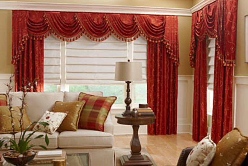 How To Hang Swag Curtains In 6 Easy Steps Home Genius