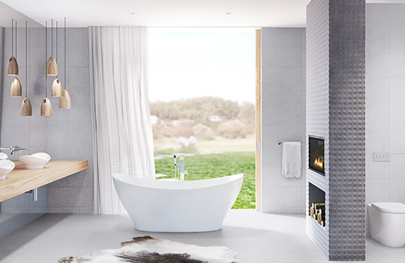 The Caroma Cupid collection exudes understated elegance and luxury.