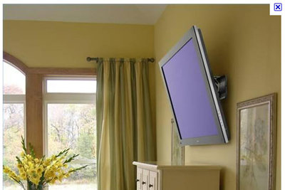 Wall-mounted TV, Television