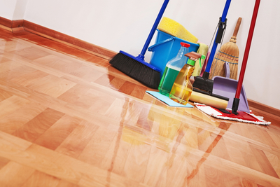 wooden floor parquet laminate mop cleaning clean scrub home house shine sparkle detergent brush broom sponge bucket